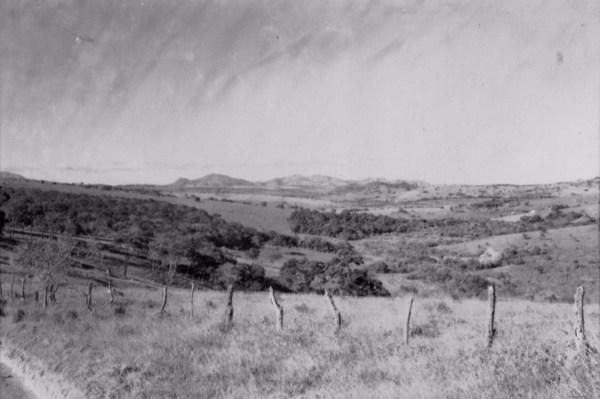 Serra da Bocaina em Lavras (MG) - 1958