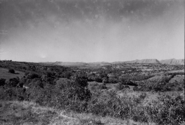Serra da Ibituruna ou Campestre em Lavras (MG) - 1958