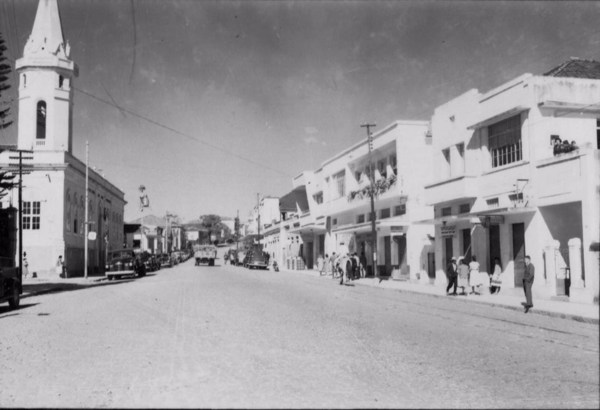 Rua Francisco Sales em Lavras (MG) - 1958