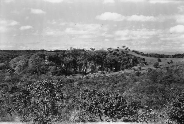 Vegetação da Gruta da Lagoa Vermelha em Lagoa Santa (MG) - 1958