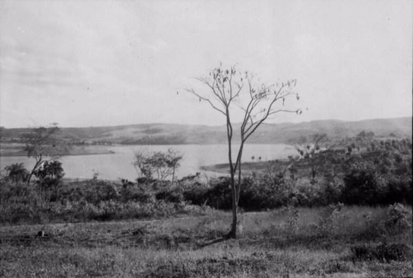 Lagoa do Sumidouro na cidade de Pedro Leopoldo (MG) - 1958