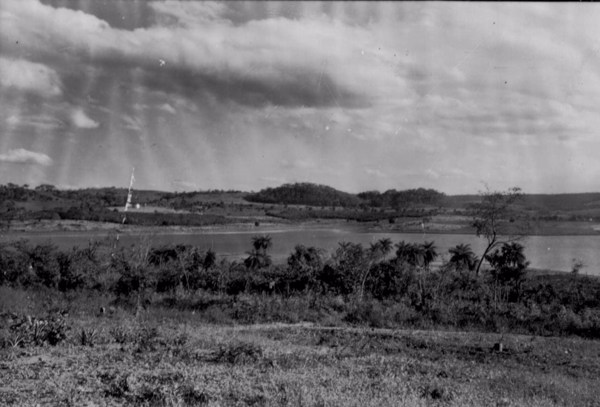 Lagoa do Sumidouro em Pedro Leopoldo (MG) - 1958