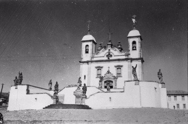 Igreja do Senhor do Bom Jesus em Congonhas (MG) - 1958