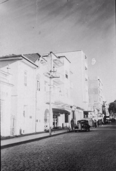 Rua 15 de Novembro em Barbacena (MG) - 1958