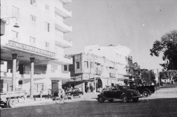 Praça dos Andradas : Município de Barbacena - 1958