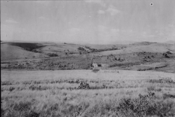 Aspecto da superfície em São Vicente (MG) - 1958