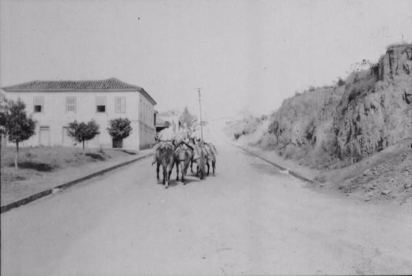 Transporte do leite em São Vicente de Minas (MG) - 1958