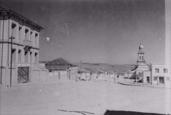 Rua principal em Cruzília (MG) - 1958