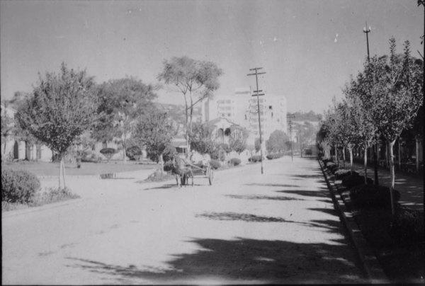 Cidade em Caxambu (MG) - 1958