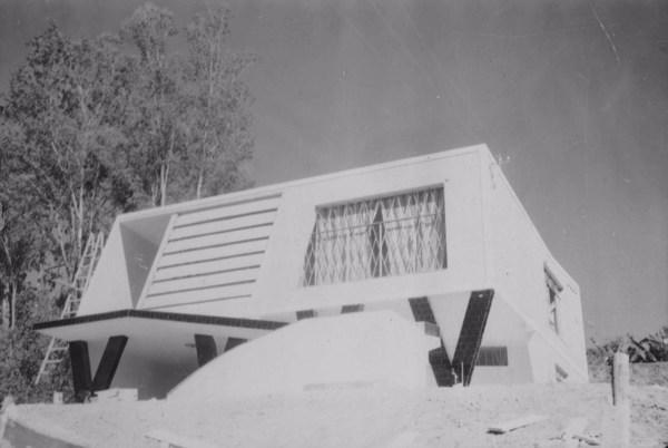 Residência em Caxambu (MG) - 1958
