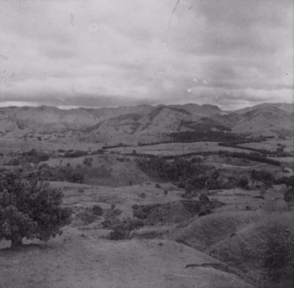 Relevo da serra de Bicas (MG) - 1958