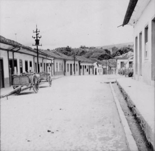 Cidade antiga em Mar de Espanha (MG) - 1958