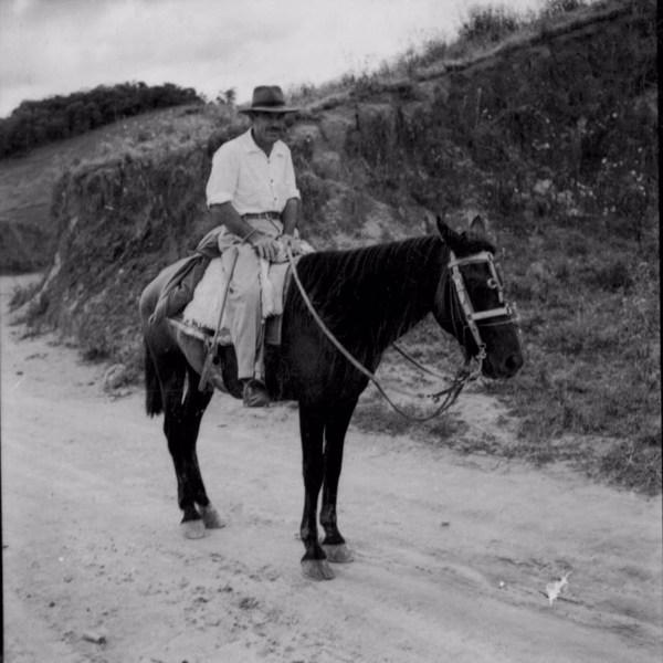 Fazendeiro da região de Além Paraíba (MG) - 1958