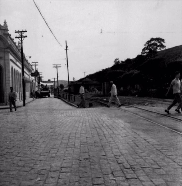 Estação férrea da cidade de Recreio (MG) - s.d