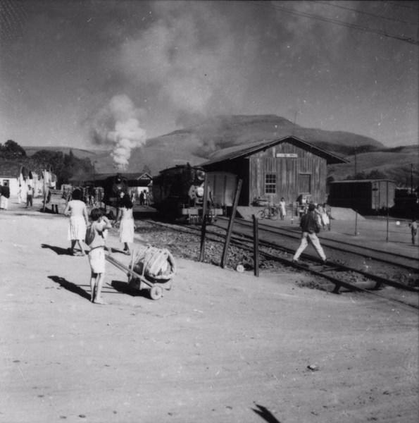 Estação ferroviária de Bom Jardim (MG) - s.d