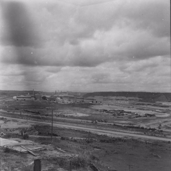 Panorâmica da Usina USIMINAS - M. Ipatinga (MG) - 1967