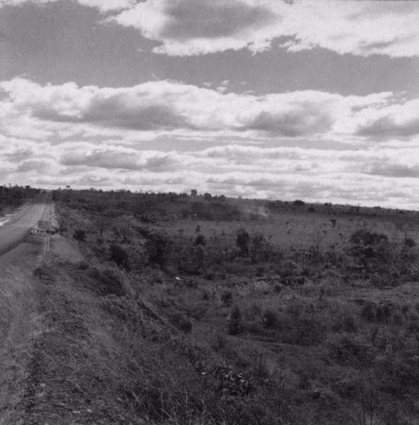 Queimada de pasto no vale do Frutal. Minas Gerais (MG) - 1968