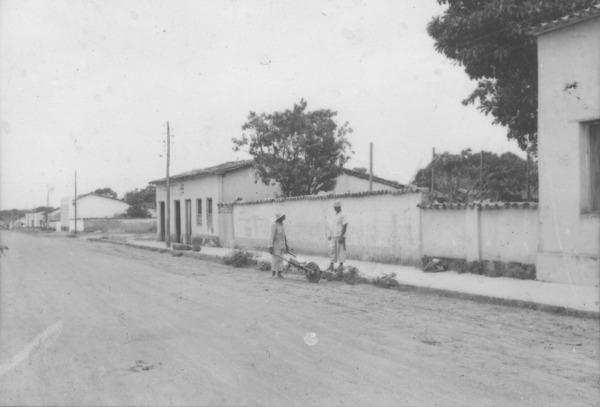 Rua Principal de Várzea Grande (MT) - 1955