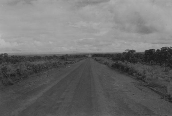 Estrada para Rosário Oeste (MT) - 1955