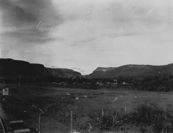 Serra de Piraputanga entre Campo Grande e Aquidauana (MS) - 1952