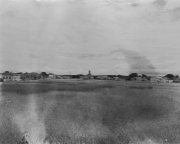 Vista da cidade de Santana do Paranaíba (MT) - 1952