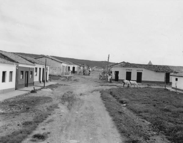 Vista da cidade de Alto Paraguai (MT) - 1953