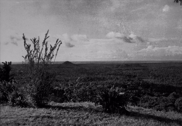 Vista tirada do Planalto de Santarém (PA) - déc. 50