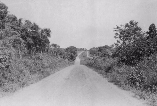 Estrada de ferro (Belém - Bragança) em Castanhal Km. 58 (PA) - jun. 1953