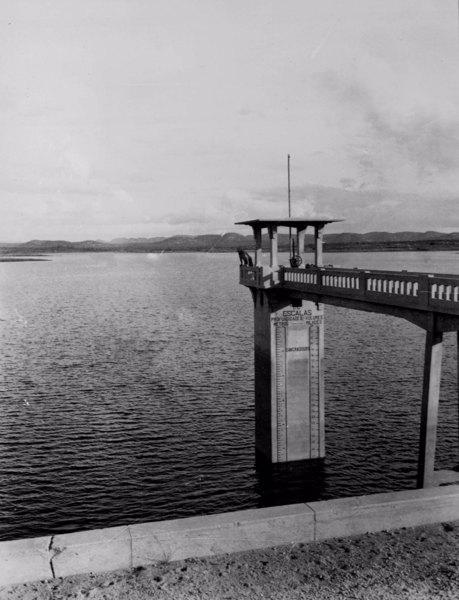 Escala do Açude Condado em Pompal (PB) - 1952