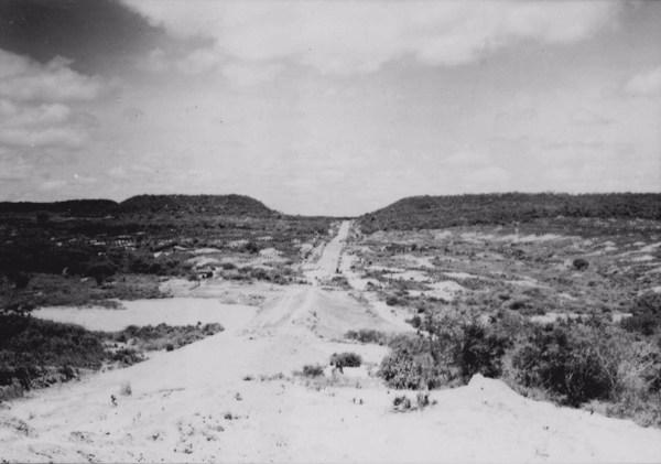 Estrada em Maturéia (PB) - 1956