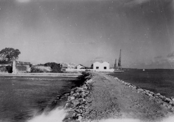 Porto e Fortaleza de Santa Catarina em Cabedelo (PB) - 1957