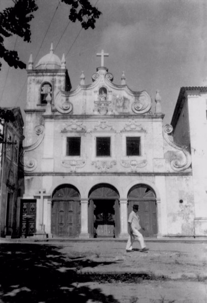 Igreja de N.Srª dos Remédios em Olinda (PE) - jan. 1952