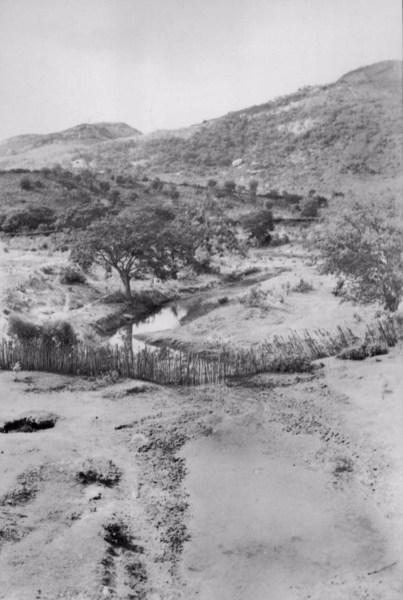 Rio Ipanema em Pesqueira (PE) - 1956