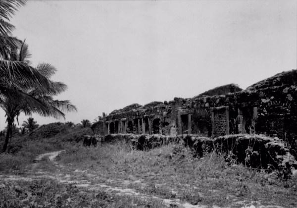 Ruínas do Forte de Nazaré em Cabo de Santo Agostinho (PE) - 1955