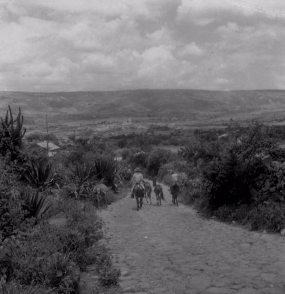 Vaqueiros em Santa Cruz da Baixa Verde (PE) - fev. 1962