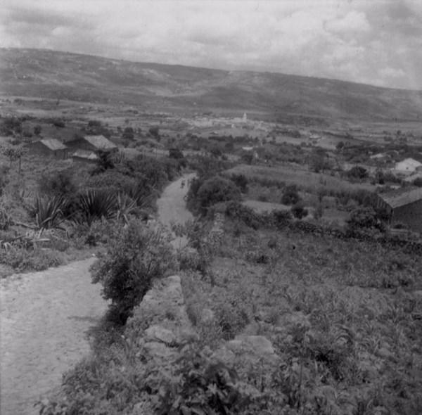 Estrada em Santa Cruz da Baixa Verde (PE) - fev. 1962