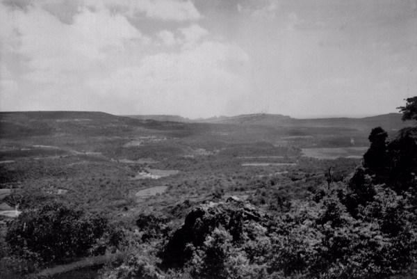 Vale do Riacho São João em São João da Fronteira (PI) - 1957