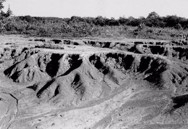 Erosão pluvial em Nazaré do Piauí (PI) - 1957