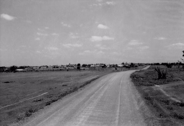 Estrada em Campo Maior (PI) - 1957