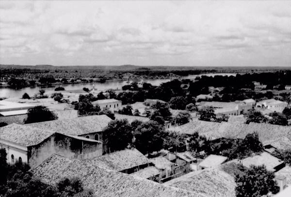 Rio Parnaíba em Teresina (PI) - 1957