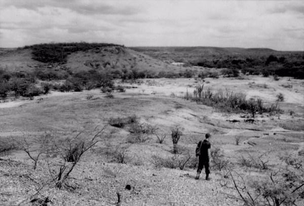 Relevo em Acauã (PI) - 1957