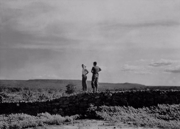 Cerca de pedra em Angical do Piauí (PI) - 1957