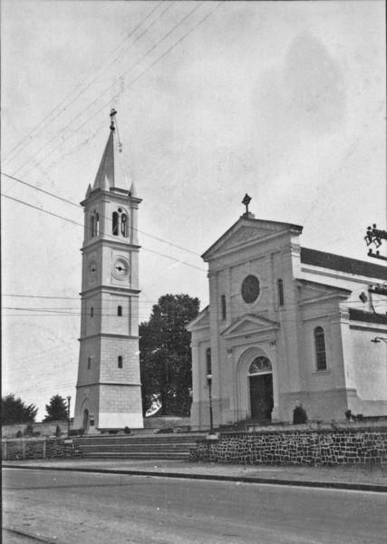 Igreja de Sta. Felicidade, perto de Curitiba (PR) - 1955