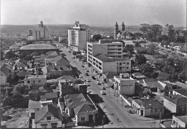 Vista total da cidade de Londrina (PR) - 1955