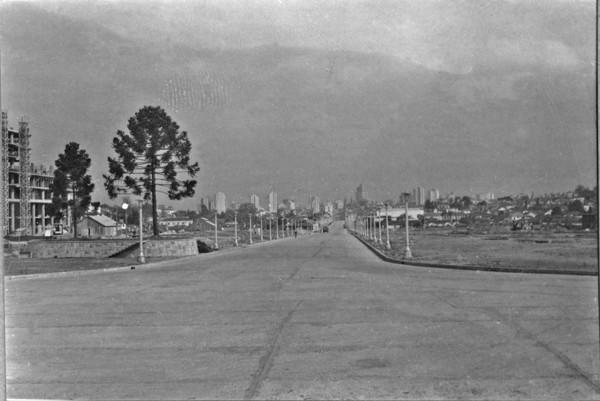 Vista da cidade de Curitiba (PR) - 1955