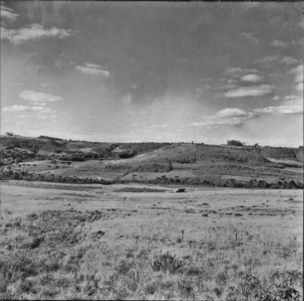 Ocupação do vale, região de Palmeira (PR) - 1957