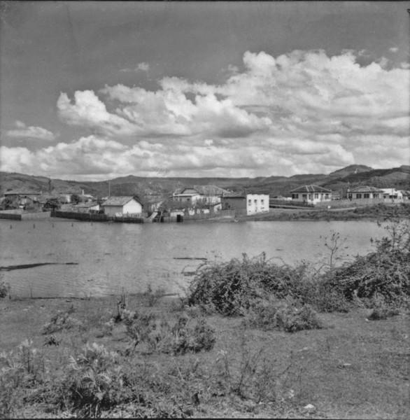 Relevo de cuestas em Porto União (PR) - 1957