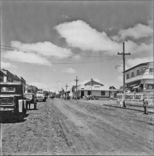 Vista parcial da cidade de Nova Fátima (PR) - 1957