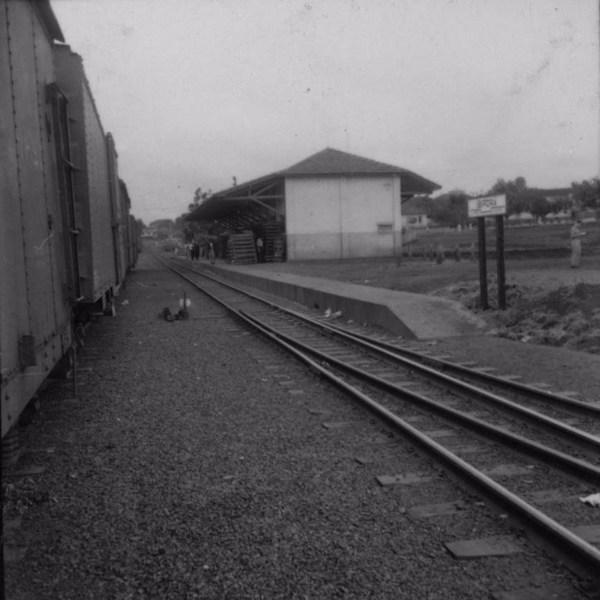 Estação ferroviária de Ibiporã (PR) - 1960