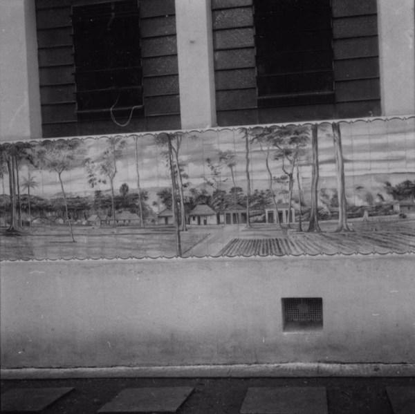 Evolução da cidade de Londrina estampada no prédio da prefeitura,1934-1959 (PR) - 1960